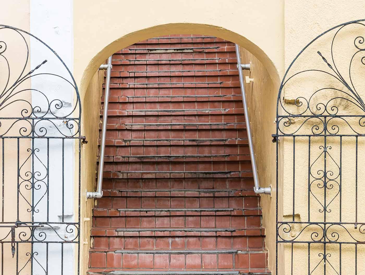 Copertura scale esterne affordable scale esterne roma la fer pi con scale esterne prezzi e - Copertura scala esterna ...
