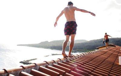 Colmo del tetto in cotto per avere la giusta areazione